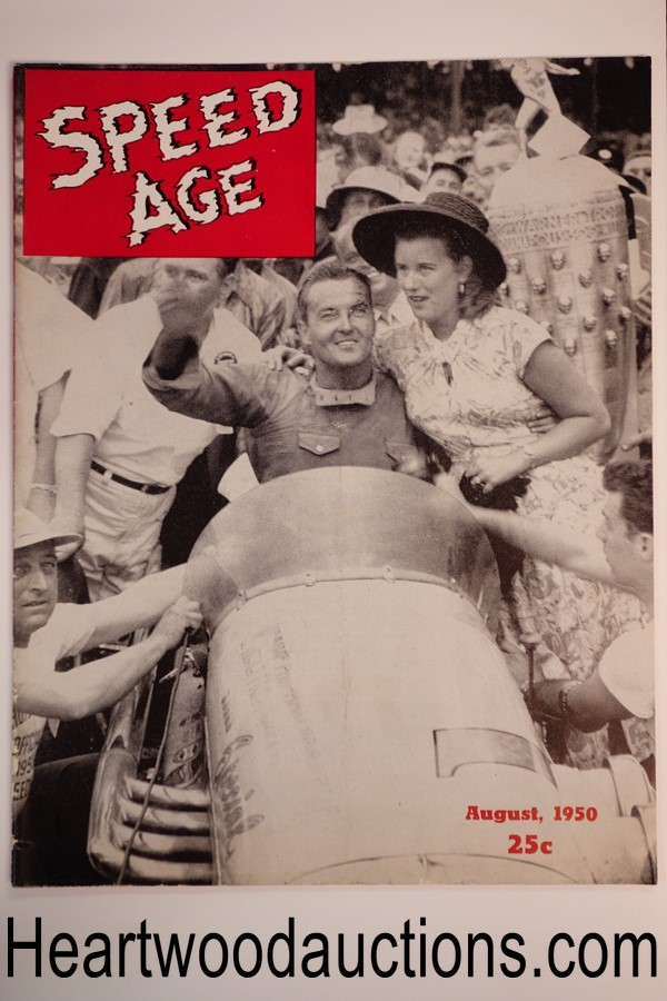 Speed Age Aug 1950
