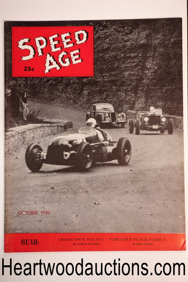 Speed Age Oct 1950