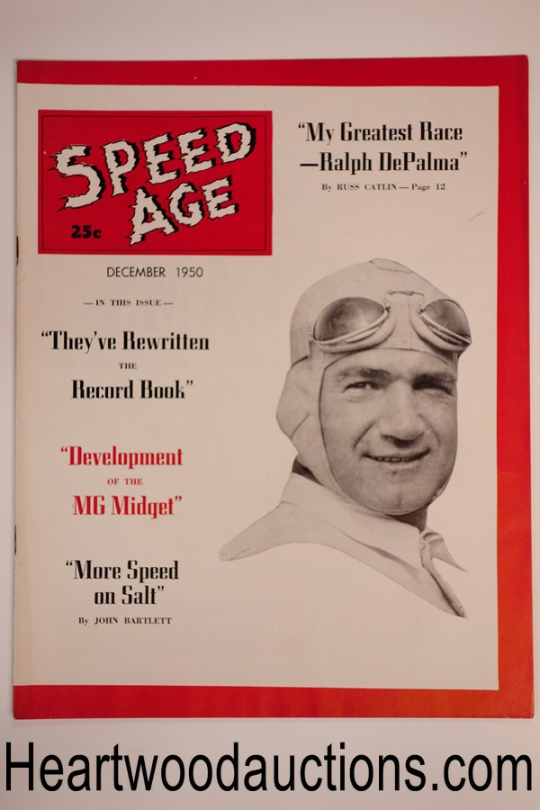 Speed Age Dec 1950