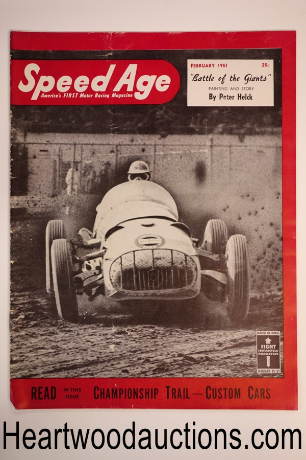 Speed Age Feb 1951