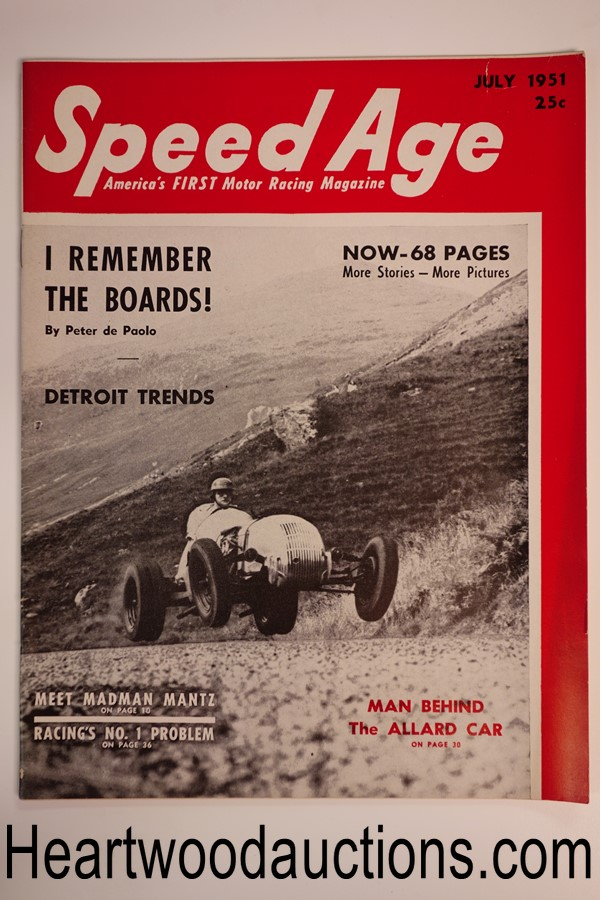 Speed Age Jul 1951