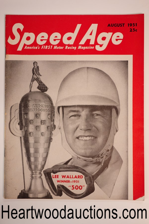 Speed Age Aug 1951