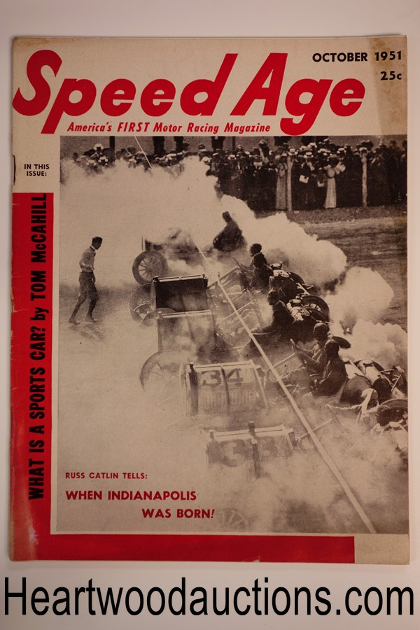 Speed Age Oct 1951