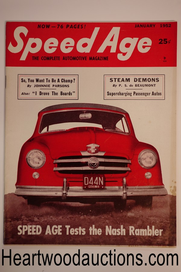 Speed Age Jan 1952