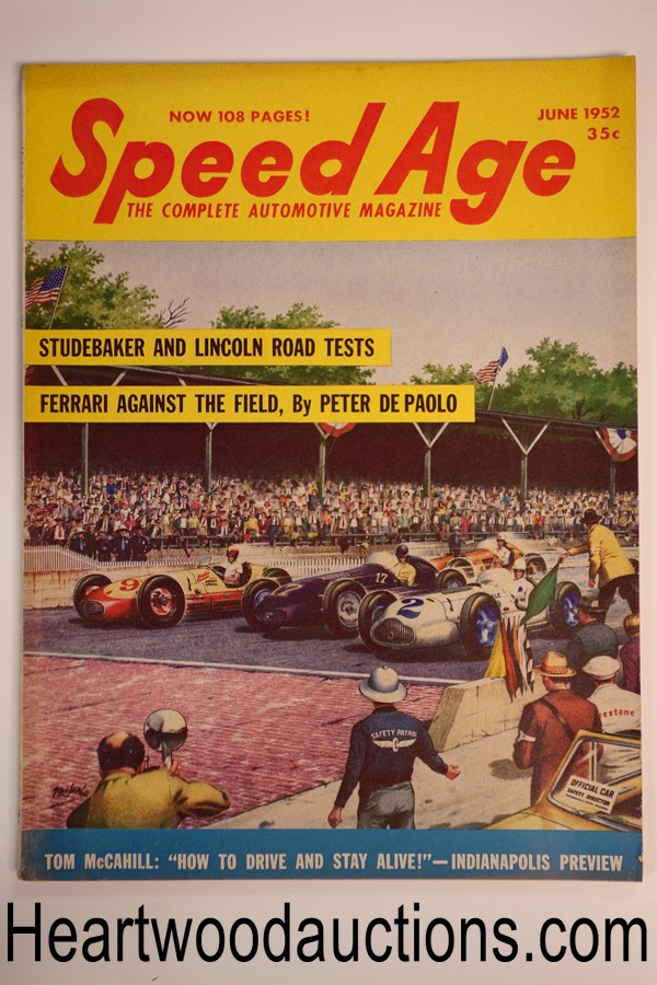 Speed Age Jun 1952