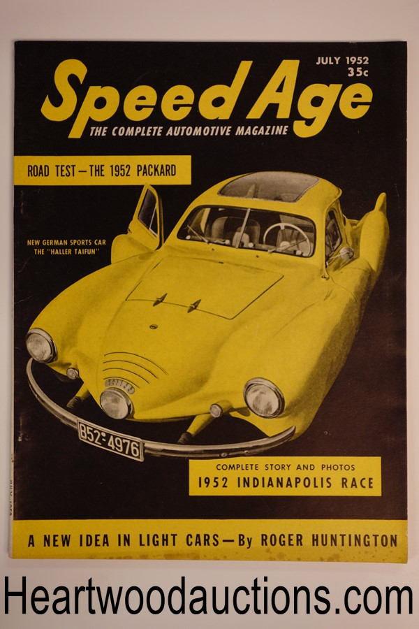 Speed Age Jul 1952