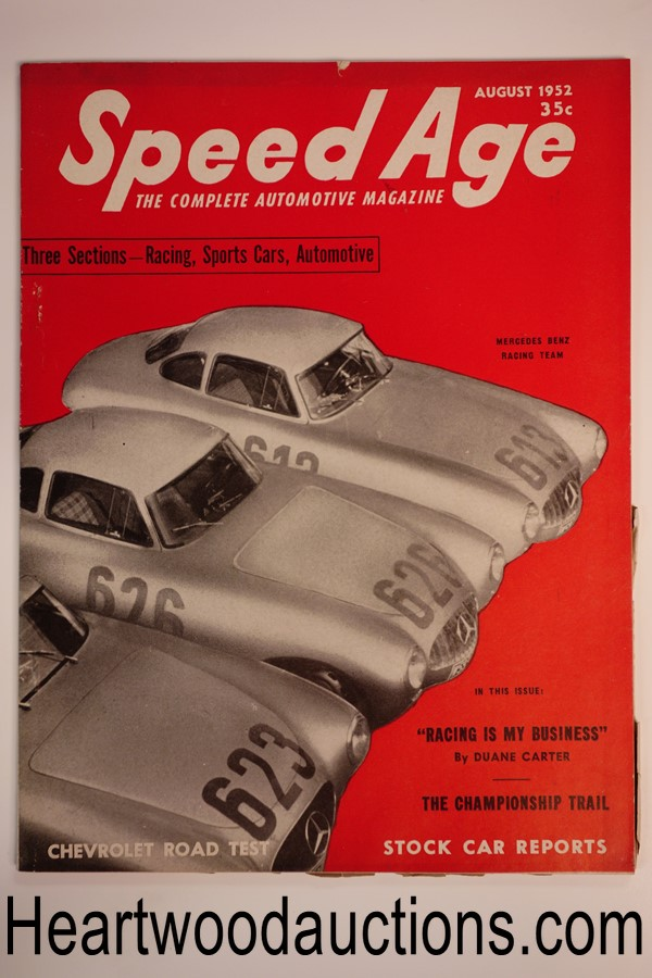 Speed Age Aug 1952