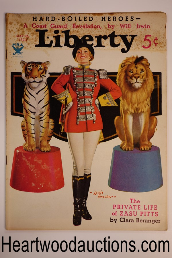 Liberty May 24, 1934 Leslie Thrasher cover