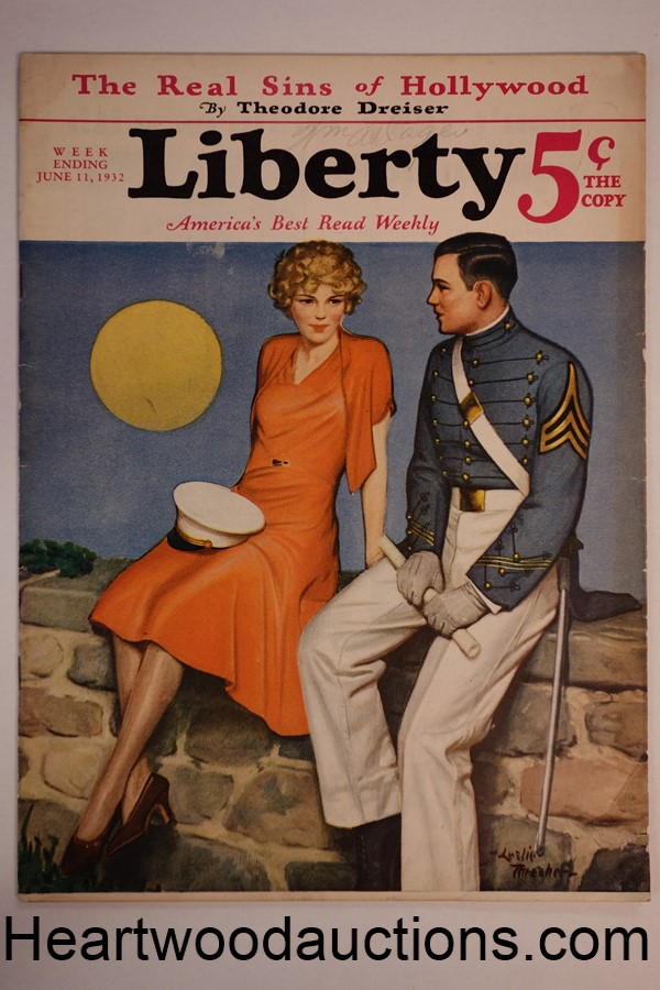 Liberty Jun 11, 1932 Dr. Suess Cartoons; J. Edgar Hoover
