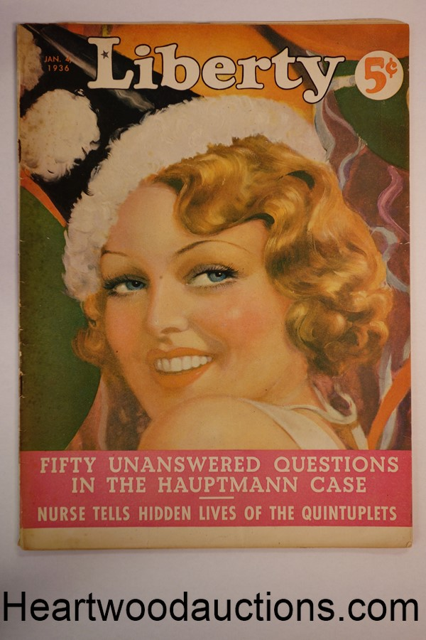 Liberty Jan 4, 1936 Hauptmann Case Article