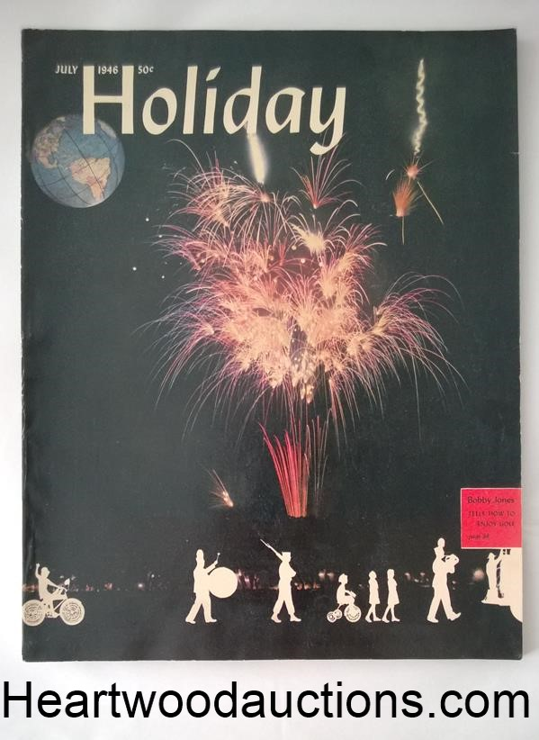 Holiday Jul 1946 Lawrence S. Williams Photo Cvr. - High Grade