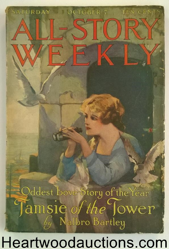 All Story Weekly Oct 7, 1916 Edgar Rice Burroughs