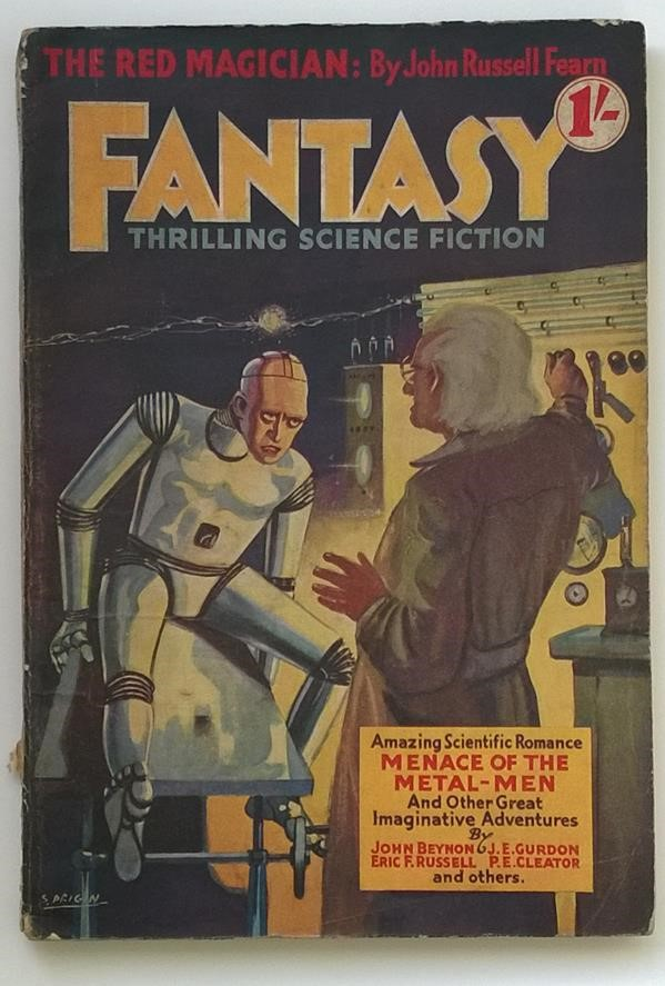 Fantasy (UK) Annual 1938 Issue #1 ; Serge Drigin Cvr ; John R. Fearn ; EF Russell