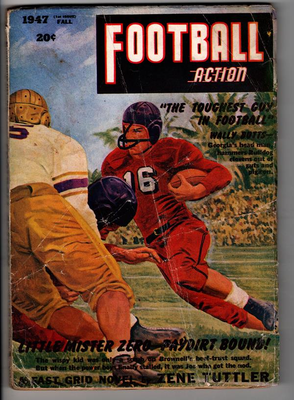 Football Action Fall 1947 Wally Botts