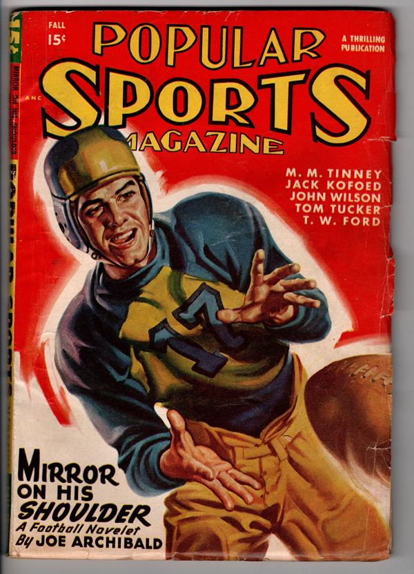 Popular Sports Magazine Fall 1947 Joe Archibald