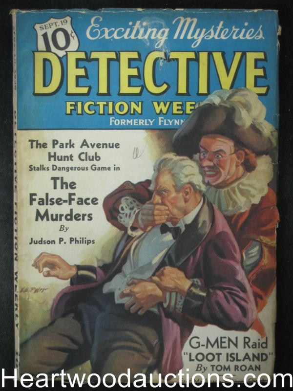 Detective Fiction Weekly Sep 19 1936 Park Ave Hunt