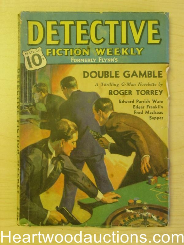 Detective Fiction Weekly Mar 20 1937 Drummond