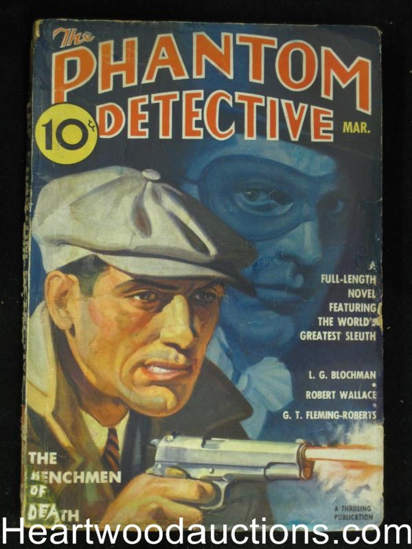 Phantom Detective Mar 1937 Robert Wallace