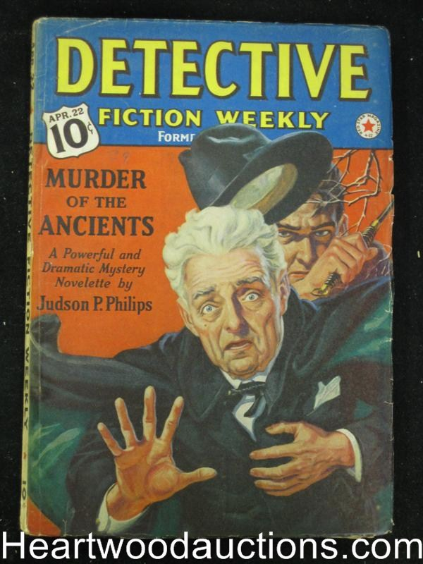 Detective Fiction Weekly Apr 22 1939 Judson P. Philips