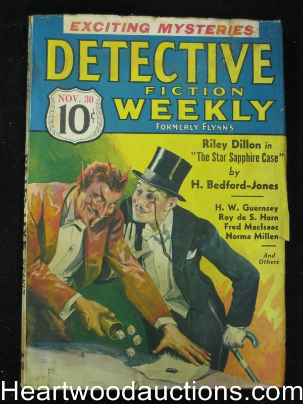 Detective Fiction Weekly Nov 30 1935 Cummings, Bedford