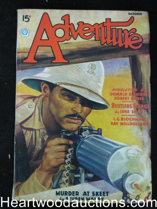 Adventure Oct 1936 Donald B. Chidsey: Ship of Fugitives