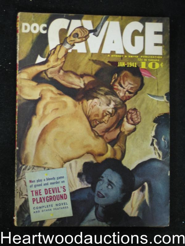 Doc Savage Jan 1941 Hathaway - High Grade