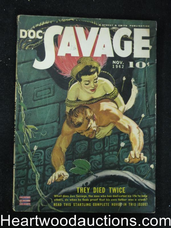 Doc Savage Nov 1942 Norman A. Daniels, Lester Dent