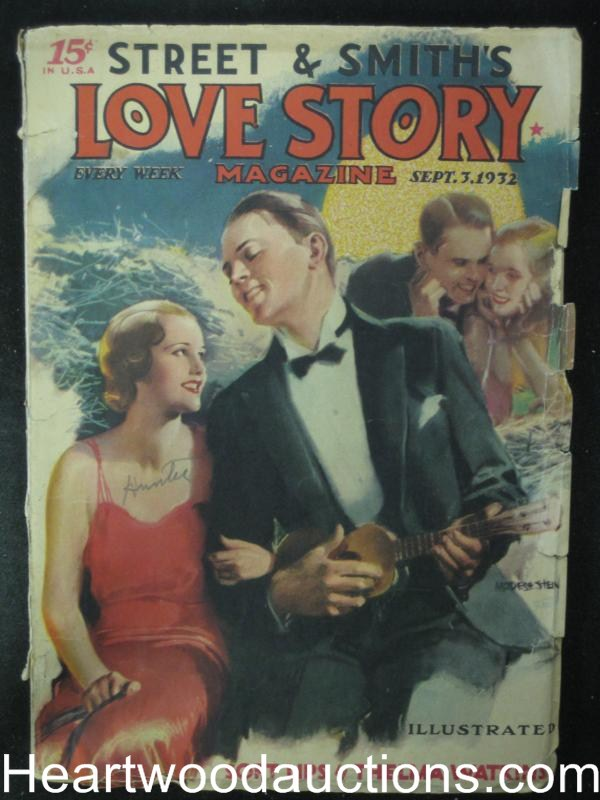 Love Story Sep 1932 Modest Stein