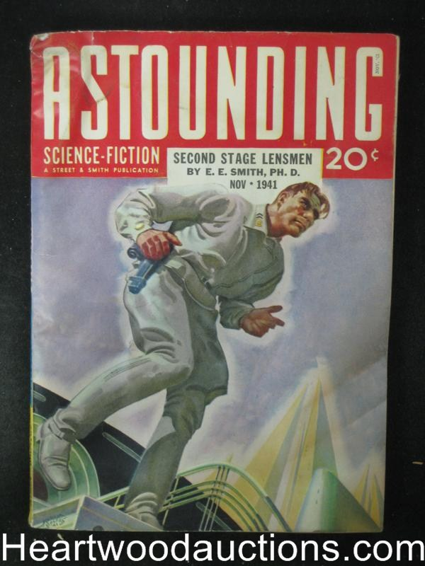 Astounding Nov 1941 E.E. Smith - Lensmen