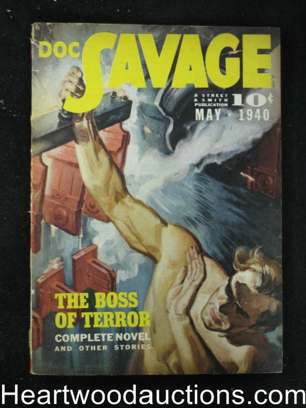 Doc Savage May 1940 Norman A. Daniels, Lester Dent