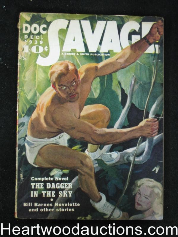Doc Savage Dec 1939 Lester Dent