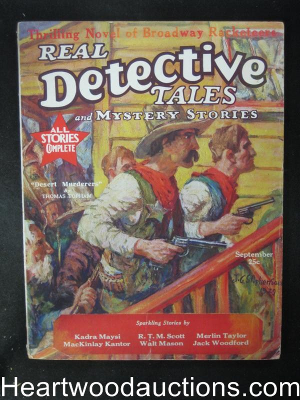 Real Detective Tales Sep 1929 R.T.M. Scott/Woodford