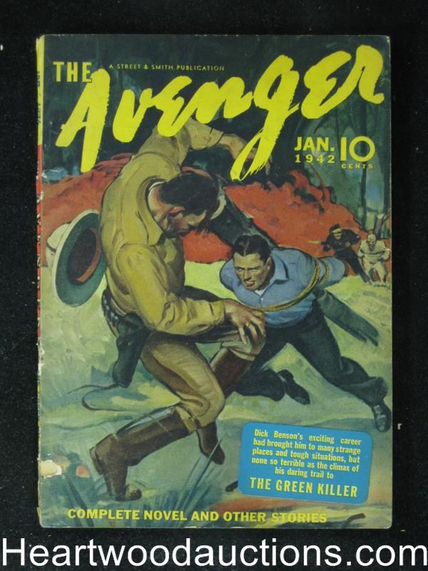 The Avenger Jan 1942