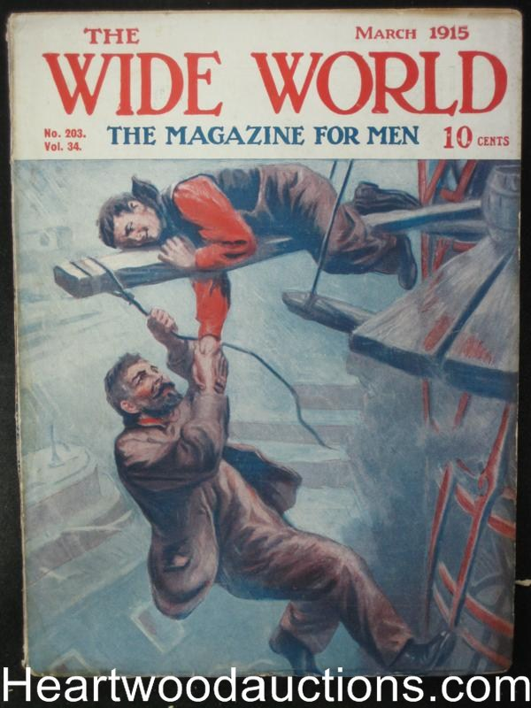 The Wide World Mar 1915 Action Cover