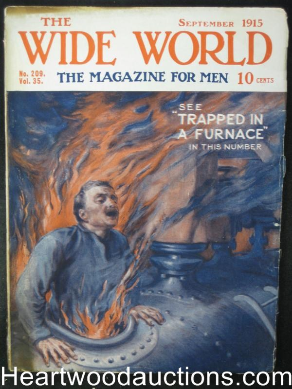 The Wide World Sep 1915 Action Cover