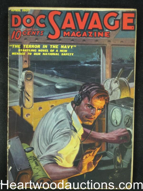 Doc Savage  Apr 1937  The Terror in The Navy