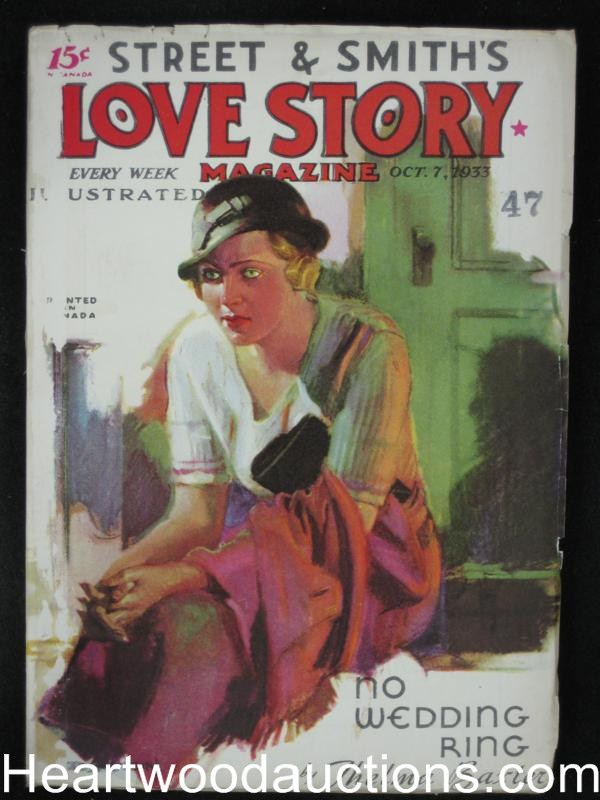 Love Story Oct 7 1933 Peggy Gaddis