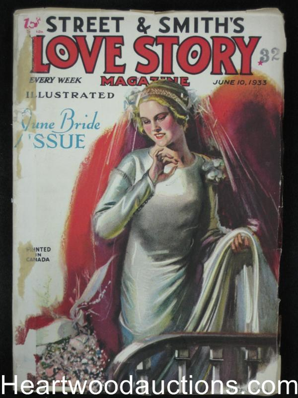 Love Story Jun 10 1933 Stein Cover