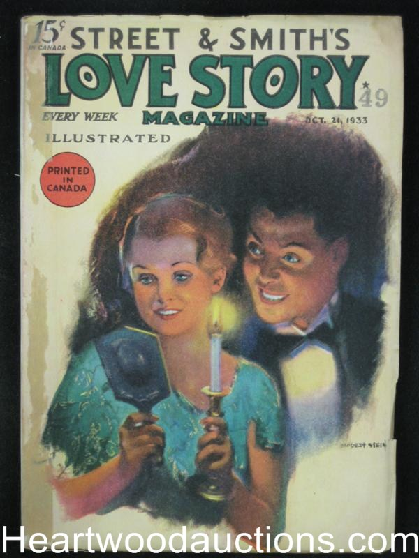 Love Story Oct 21 1933 Stein Cover