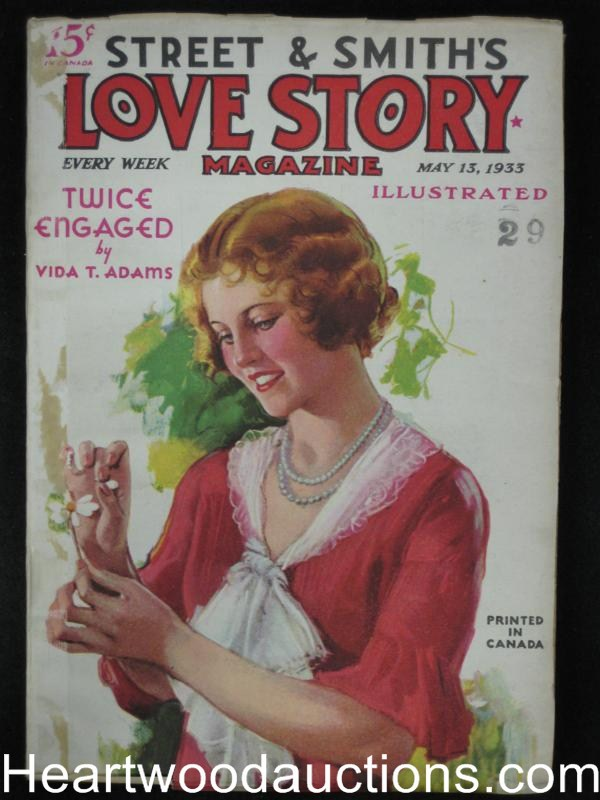 Love Story May 13 1933 Twice Engaged