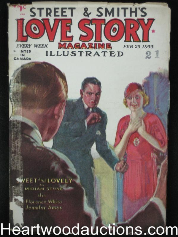 Love Story Feb 25 1933 Stein Cover