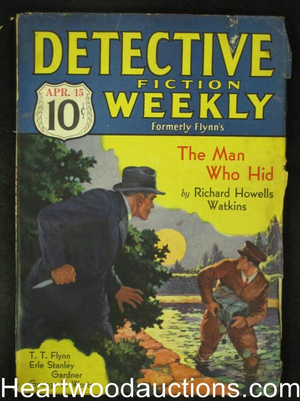 Detective Fiction Weekly Apr 15 1933 E.S. Gardner, Worts, Flynn