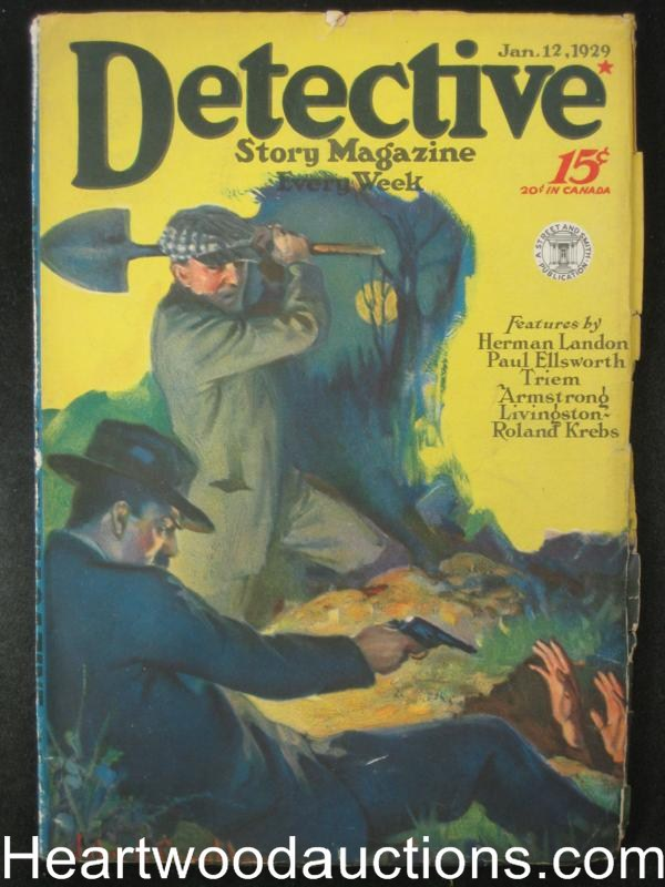 Detective Story Magazine January 1929 Picaroon, Herman Landon