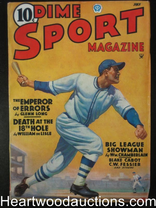Dime Sport July 1935 Vol 1 #1- High Grade
