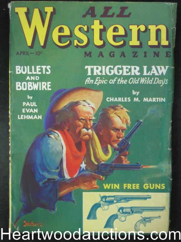 All Western Apr 1935  Quantrell, the Guerilla