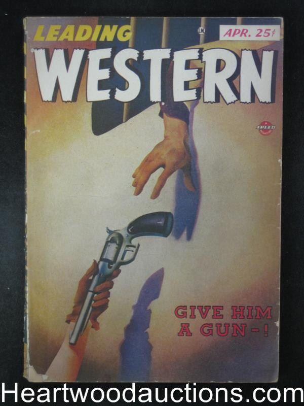 Leading Western Apr 1947  From the Spicy publishers