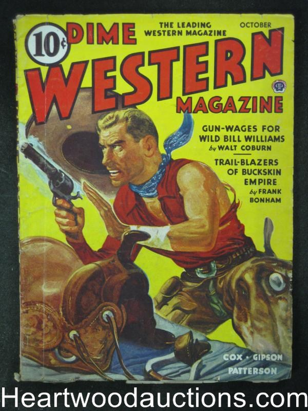 Dime Western Oct  1944  Walt Coburn, William R. Cox