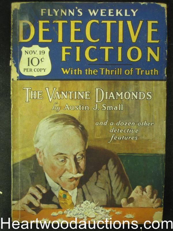 Detective Fiction Nov 19, 1927   Vantine Diamonds