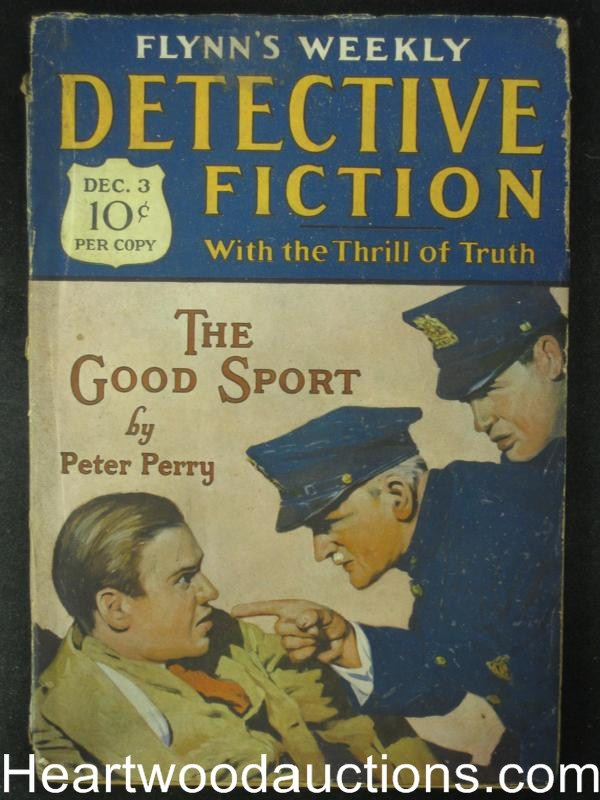 Detective Fiction Dec 03, 1927   The Good Sport