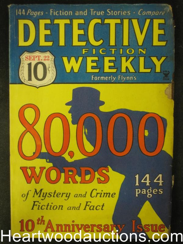 Detective Fiction Sep 22, 1934   Judson Phillips, Hulbert Footner